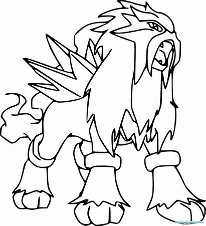 Pokemon Coloring Pages Legendary Unique Printable Getcolorings