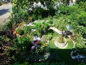 Garten Von Oben : unser kies garten meiendorfer garten ein blick ~ Orissabook.com Haus und Dekorationen