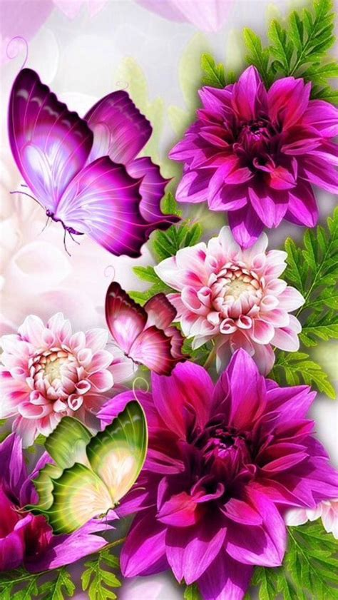 Animated Mobile Phone Wallpapers Flowers - 17 ideas about butterfly wallpaper iphone on