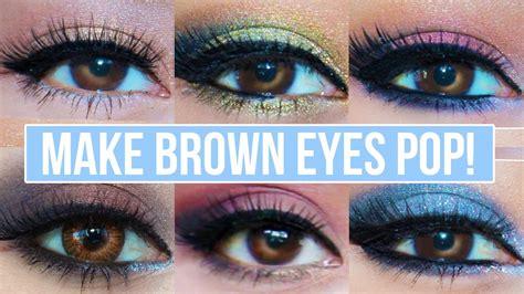 makeup    brown eyes pop brown eyes makeup tutorial youtube