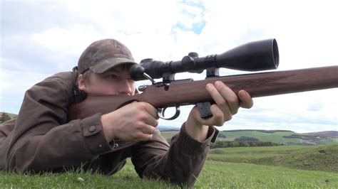 Shot , shoot·ing , shoots v. The Shooting Show - rabbit shooting special with RWS, Anschütz and Pulsar - YouTube