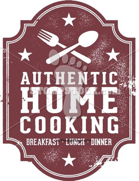 home cooking restaurant menu sign stompstock royalty