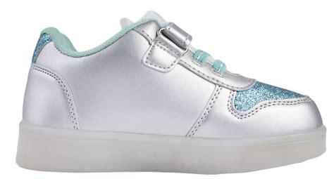elsa light up shoes disney frozen led light up trainers usb girls anne elsa