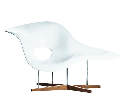 chaise longue pvc blanc la chaise eames office