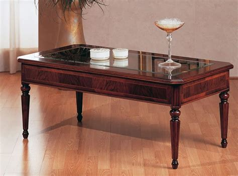 classic tables design traditional coffee table luxury with glass top for villa idfdesign
