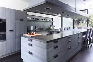 Tabouret Ilot Central : ilot central maison cuisine en image ~ Teatrodelosmanantiales.com Idées de Décoration