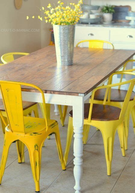 diy country kitchen table 25 best ideas about rustic kitchen tables on 6808