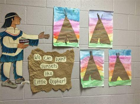 native american theme preschool kindergarten teepee lessons elementary lessons 301