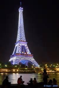 Paris Eiffel Tower Blue
