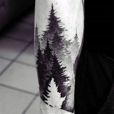 Negative Space Tattoo Designs For Men Manly Ink Ideas