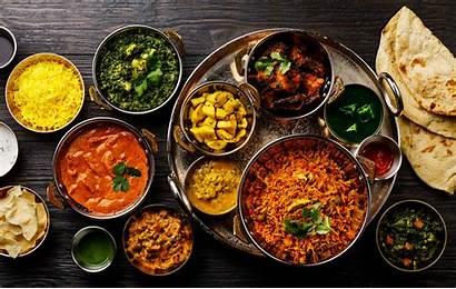 Biryani Indian Chicken Curry Rice Paneer Background