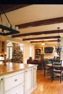kitchen islands atlanta kitchen island and beams rustic kitchen atlanta by merfeld allied member asid