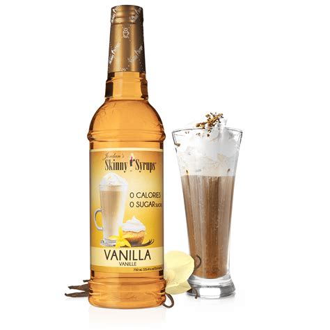 Made from the extracts of premium vanilla beans for a pure yet complex flavor, sugar free torani vanilla syrup is rich and robust. Sugar Free Vanilla Syrup | Skinny Syrups | Skinny Mixes