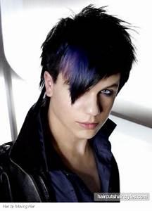 Emo Purple Hair Style