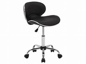 Chaise à Roulettes : chaise de bureau sur roulettes noir vente de idimex conforama ~ Melissatoandfro.com Idées de Décoration