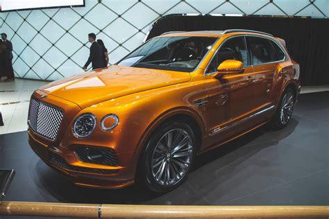 Bentley Bentayga Speed is world's fastest SUV   Autocar