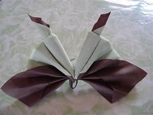 Pliage De Serviette Papillon : serviette papillon le scrap de beceva ~ Melissatoandfro.com Idées de Décoration