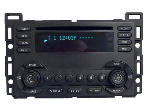 gmc chevy chevrolet am fm radio stereo player factory oem 15255023 receiver ebay