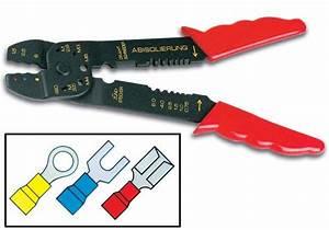 Pince à Sertir : e44 pince sertir conomique 8 pour connecteurs fast on ~ Melissatoandfro.com Idées de Décoration