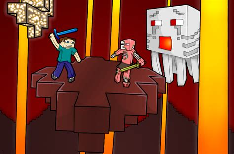 mc art angry ghast minecraft blog