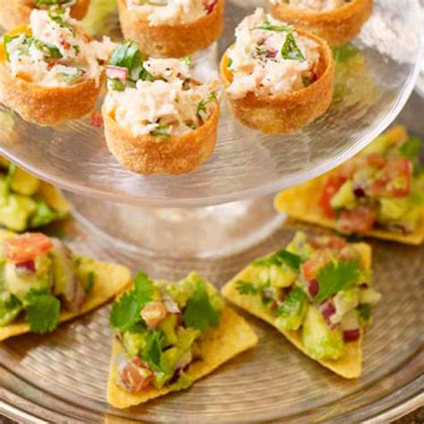 canape recipes uk avocado scoops housekeeping