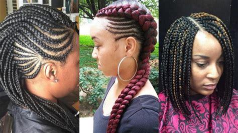 african black braided hairstyles  turn heads