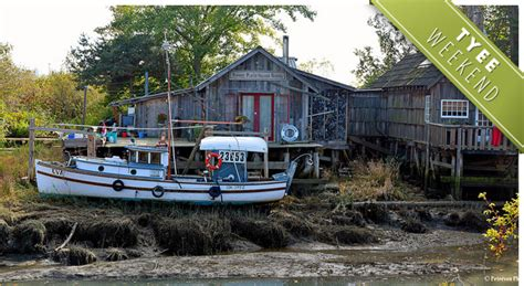 Living On A Boat In Richmond by Finn Slough An Grid Wilderness On The Fraser