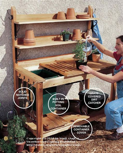 hobby cubit woodworking forum potting bench