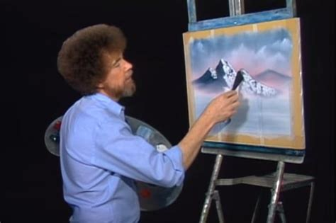 11 Lessons We Learned From Bob Ross On 'the Joy Of Painting