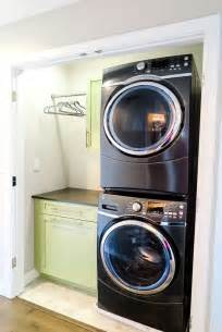 Closet Size For Stackable Washer And Dryer by Best 25 Stackable Washer Dryer Dimensions Ideas On