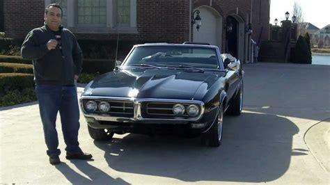 pontiac firebird convertible classic muscle car