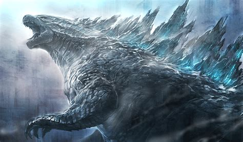 Godzilla 2014 Gojira Rises Fan Art  Godzilla Fan Artwork