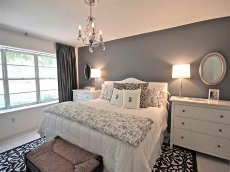 Chandeliers For Bedrooms Ideas, Grey Bedroom Walls With