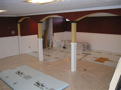 how to install laminate flooring in basement laminate flooring install basement