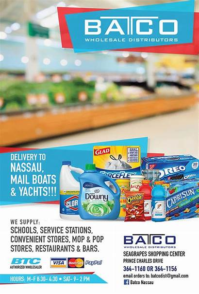 Batco Wholesale Distributors Nassau Bahamas Island Restaurant