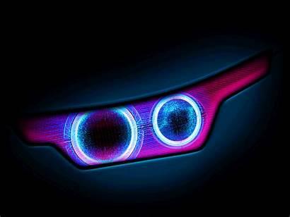 Headlight Digital Dashboard Animated Lights Animation Dribbble