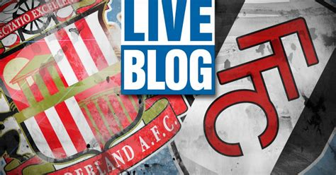 Sunderland 0-0 Fulham FA Cup RECAP: Relive all the Build ...