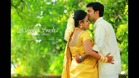 kerala hindu wedding highlight ashish snehacrystalline