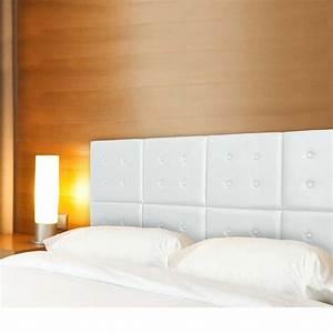 Tete Lit Capitonnée : t te de lit capitonn e h tel modulable blanc t te de lit ~ Premium-room.com Idées de Décoration