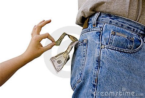 pick pocket stock photography image