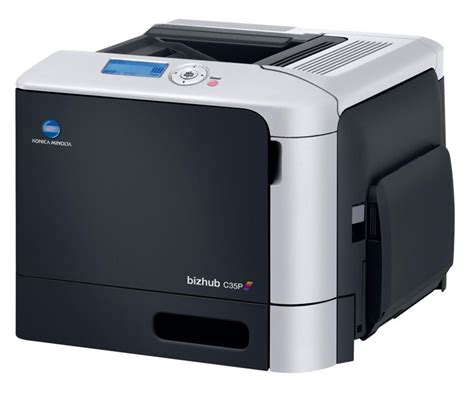 Available in multiple variations depending on your requirements and the model selected. Konica Minolta bizhub C35P color laser printer - CopierGuide