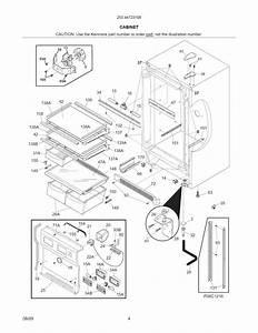 Kenmore Elite Refrigerator Cabinet Parts
