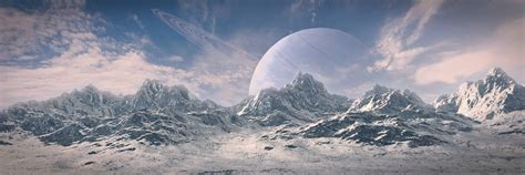 Alien Planet Hd Wallpaper Alien Landscape Wallpaper Wallpapersafari