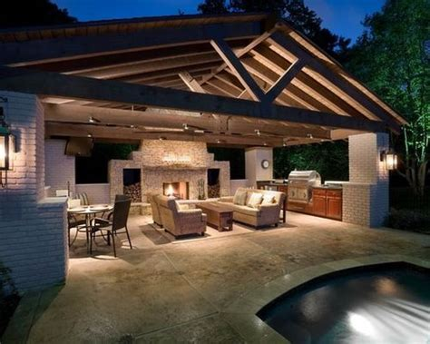 house plans with pools and outdoor kitchens pool house with outdoor kitchen farm house ideas