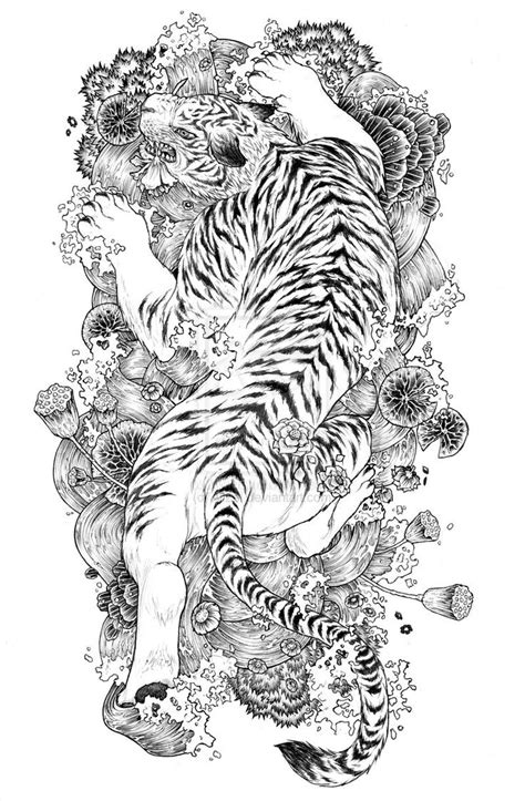 Tiger Tattoo Designs | tattoo style | Tiger tattoo, White tiger tattoo, Tiger tattoo design