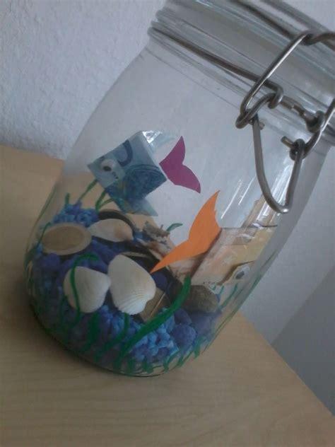 fisch im glas beach geldgeschenke geldgeschenke