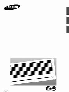 Samsung Air Conditioner As07a5 6 Ma User Guide