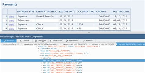 order entry invoices printing payment details