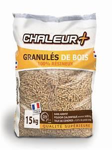 Granulés De Bois Castorama : granul s de bois chaleur 15kg 1 palette u ~ Dailycaller-alerts.com Idées de Décoration