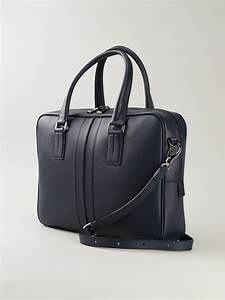 lyst tod39s medium document holder bag in blue for men With baggage documents